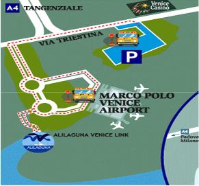 Mappa Auroporto Venezia